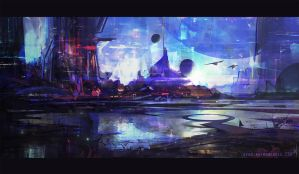 City of Light by crazypalette