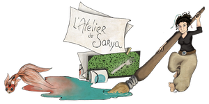 Fish of Paint - Blog's banner by sarya-atelier