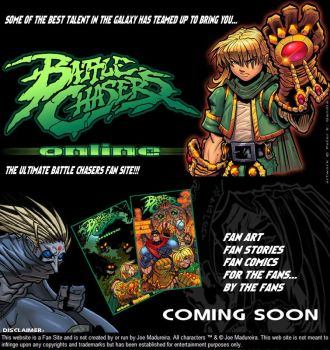 Battle Chasers Online-Ad by SplashColors