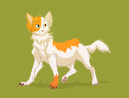 Leafpaw by xepxyu