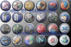 mandrake's Dock Icon pack 2.0 by pmandrake