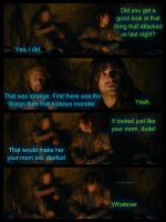 The Hobbit: Witty Comebacks by BeautyAndStrength