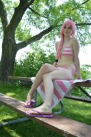 Pink Stripes - Four by LinneaCosplay