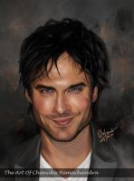 Ian Somerhalder by chanuka30wh