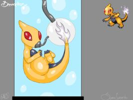 PokeFusion - Beedrill + Charmeleon by Some1smarter