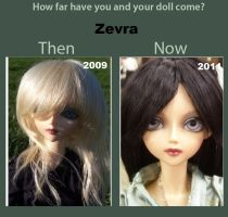 Zevra Then and Now by EilonwyG