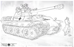 Panther Ausf. M - 1952 by MichalKus