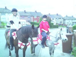 me and vickyyn21 in owr england get up by breyerbat212
