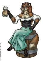 Beer Wench by katarina