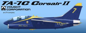 Blue Angels TA-7 by Wolfman-053