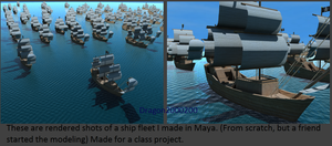 Rendered Ship Fleet Shots by dragon2000200