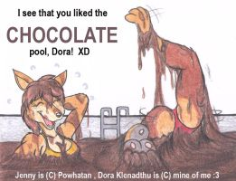 I see you liked the chocolate pool by DingoPatagonico