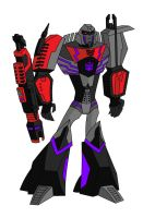 Animated WfC Megatron by AleximusPrime