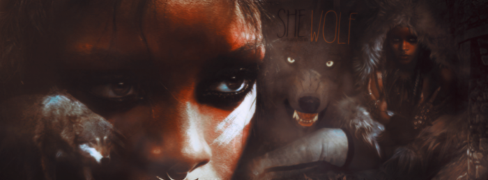 Rihanna She Wolf Facebook Cover by FurkanYldrm