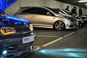 Golf VS Opel by Clipse89