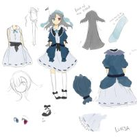 Luria- Character Ref by Luriona