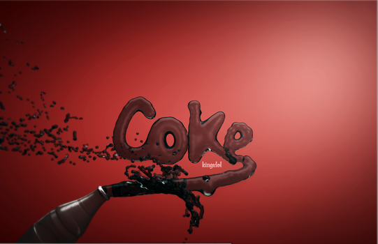 Coke by Kingxlol