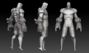 TM-128 Sculpt WIP 2 by king-worm