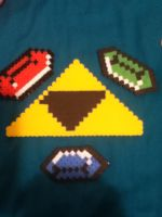 Tri force and three Rupees by sams-adopts