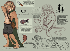 . Fitz Reference . by FireofAnubis