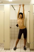 hanging out in the mens room by illicitDreamer