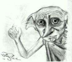 Dobby Sketch by blackrose81