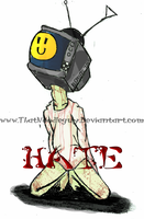 HATE Cover Page by ThatNoOdLeguy
