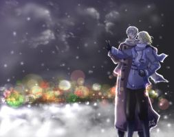 APH: Franco-Russo Christmas by AlaisL