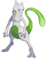 Shiny Mewtwo: Revamped by CherubimonX