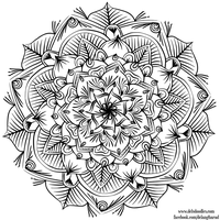 Krita Mandala 29 by WelshPixie