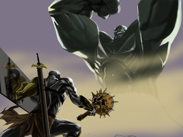 Planet Hulk WIP by ybang-klase