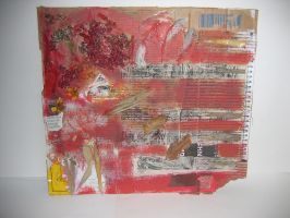 Mixed Media Red by 3FF3CT