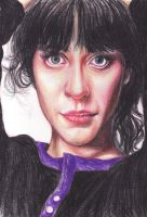 Zooey Deschanel by livneeson