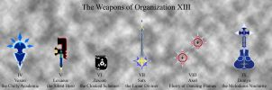 Weapons of Organization XIII by anime-viewer