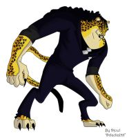 Rob Lucci CP9 - model leopard by DrJackal38
