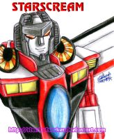 Armada Starscream practice by Starshot-seeker