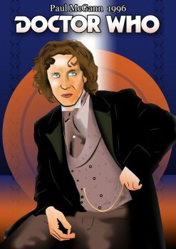 Doctor Who - Paul McGann by David-Kingo