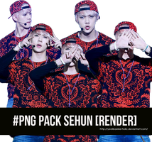 PNG Sehun [Render] by yeolibaekie-holic by yeolibaekie-holic