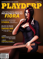 Playderp Mag #3 - Headmistress Fiora by martaino