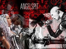 AngelSpit by CrayolaScribbles