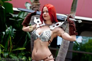 Red Sonja 8 by Insane-Pencil