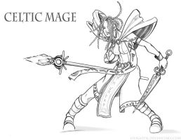 Celtic Mage by Otagoth