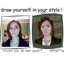Draw Yourself Meme by FadingLightOfGlory