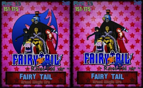 FT Arc 15 - Grand Magic Arc ~Raven Tail~ .ver by Zule21