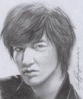 Lee Min Ho by meijhel
