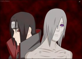 Nagato and Itachi by Madnesssss