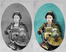 Reviving the Onna-bugeisha by Telkian