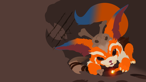 Gnar the Missing Link Vector by DukeofDunkshire