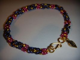 Rapunzel inspired bracelet by TianaTinuviel