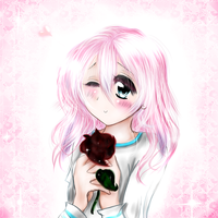 A Rose for Sashikuchan by Scootie-chan